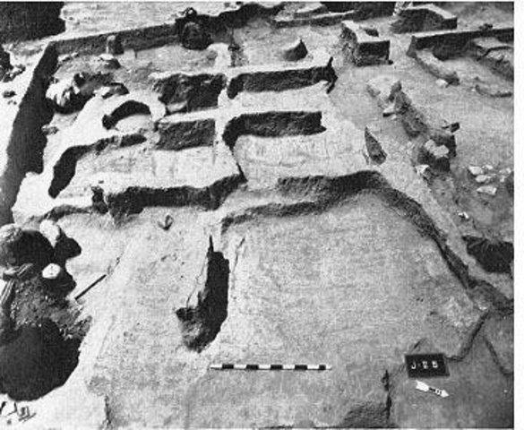 Jarmo, 7,000 B.C.