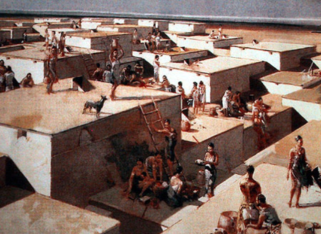 Catal Huyuk, 6,000 B.C.