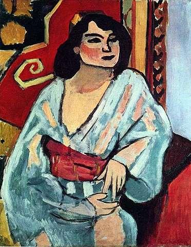 """La argelina"" de Henri Matisse"