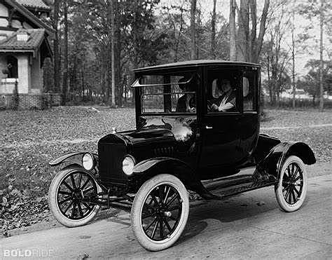 The invention of the Model T