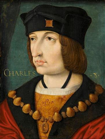 Carlos VIII de Francia. (Reinado 1483-1498).