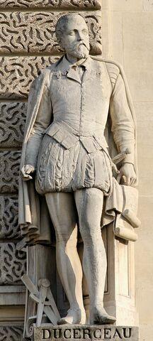 Jacques Androuet du Cerceau. (1510-1584).
