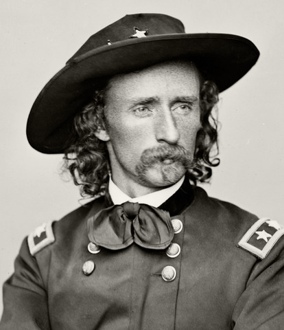 George Armstrong Custer. (1839-1876).