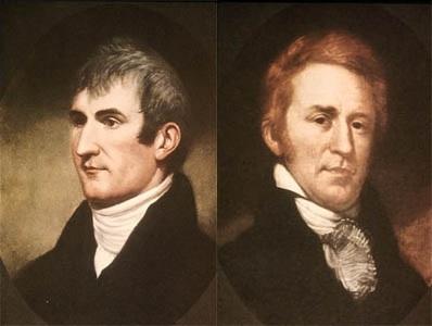 Expedición de Lewis y Clark.
