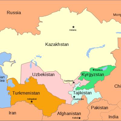 Central Asia timeline