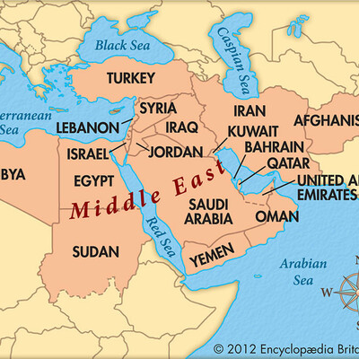 Books set in the Middle East timeline