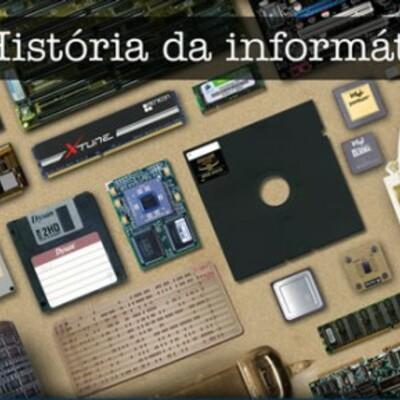 Linha do Tempo da História da Informática timeline