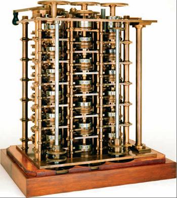 Máquina diferencial de Cálculos Complexos.