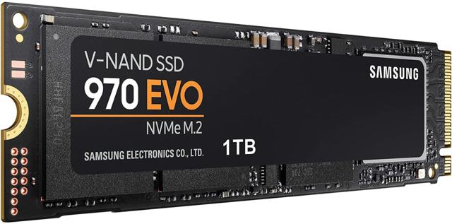 SSD: M.2 Samsung 970 EVO Plus 1TB