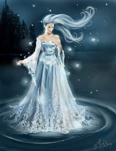 The Goddess of ice is born