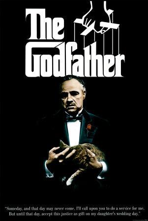 """""""El Padrino"""" por Francis Ford Coppola."""