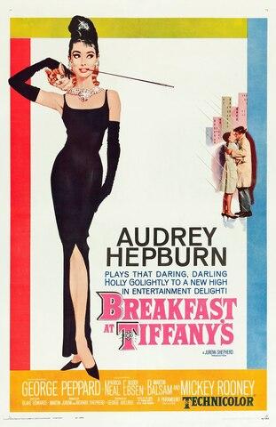Breakfast at Tiffany's. por Blake Edwards - Comedia romántica.