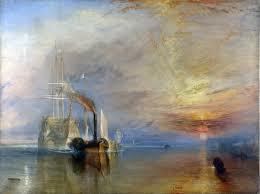 """""""Último viaje del temerario"""" de W. TURNER."""