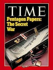 """""""The Pentagon Papers"""". Estudio elaborado por el Dept. de Defensa."""