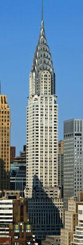 Edificio Chrysler por William van Alen.