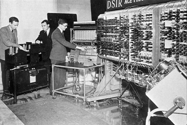The invention of the Internet