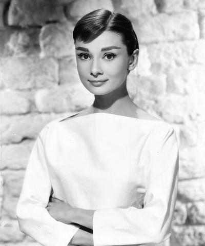 Audrey Hepburn. (1929-1993).