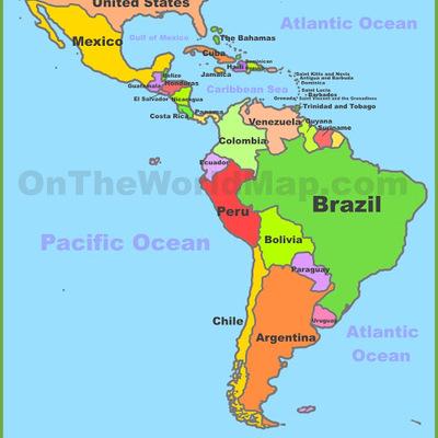 Central & South America timeline