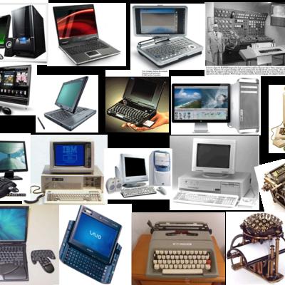 historia de la computadora y sus generaciones timeline