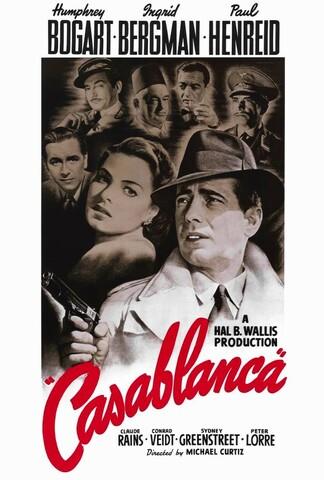 Casablanca (película) por Michael Curtiz.