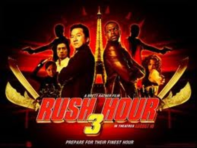 """""""Rush Hour 3"""" releases"""