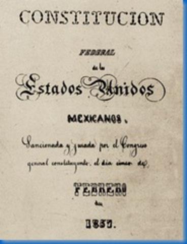 Constitución Federal de los Estados Unidos de México