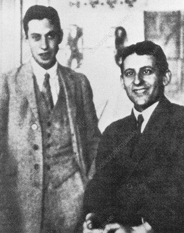 George Uhlenbeck y Samuel Goudsmith
