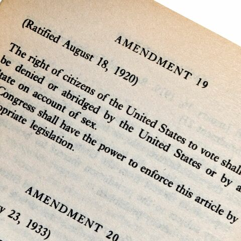 The Ratification of the 19th Amendment
