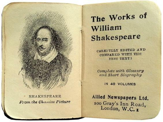 The work of Shakespeare