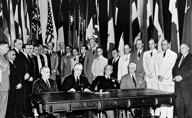 The Formation of United Nations
