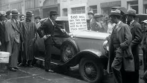 Stock Market Crash Begins Great Depression