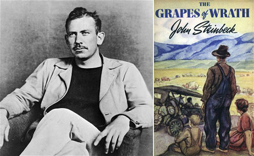 Grapes of Wrath is Published