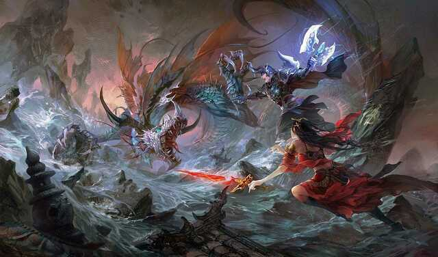 The Battle of Zexug breaks out between The gods and Entelexeia