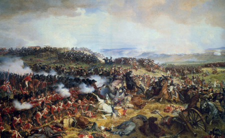 Derrota de Napoleón en Waterloo