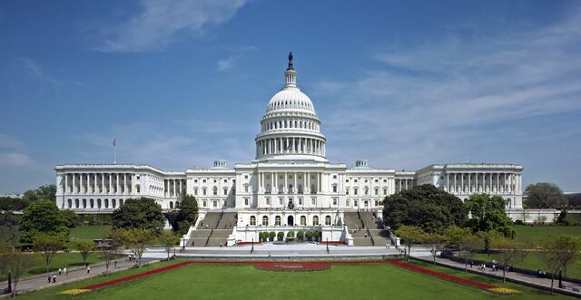 Capitolio de los Estados Unidos. Diseño inicial de William Thornton.