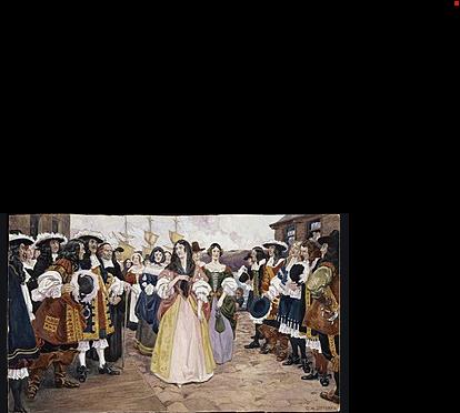 Début de l'arrivé des filles du roi en Nouvelle-France