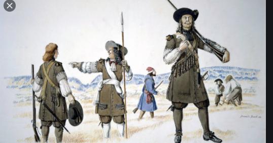 Arrivée du régiment Carignan-Salières