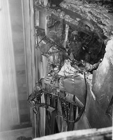 Choque del B-25 contra el Empire State Building.