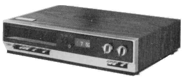 The VCR gains popularity
