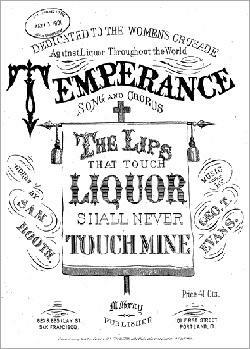 Ministers organize the American Society for the Promotion of Temperance.