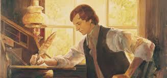 Joseph Smith reveals the Book of Mormon.
