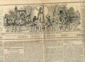 William Lloyd Garrison begins publication of The Liberator.