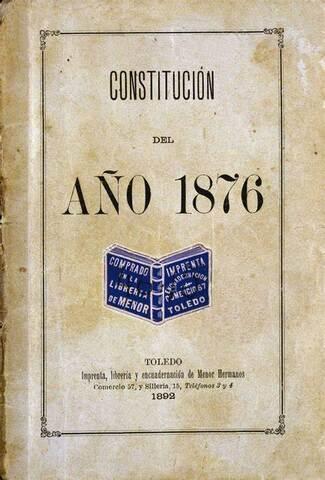 Constitució del 1876