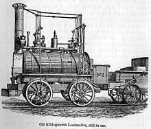 Stephenson´s Steam locomotive