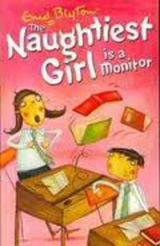 The Naughtiest girl is a Moniter