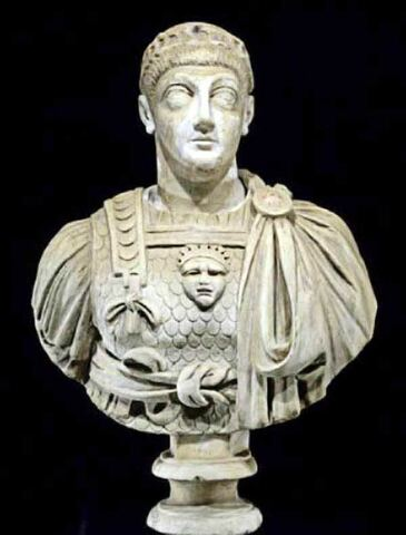 Valentinià III (425-455) i Teodosi II (401-450)