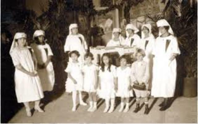 (1925) SE ESTABLECIÓ EL DEPARTAMENTO DE PSICOPEDAGOGÍA E  HIGIENE.