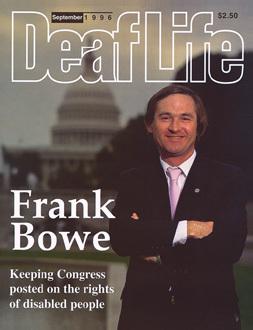 (1979) Frank Bowe representante de las personas con discapacidad.