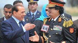 Rapporto Gheddafi - Berlusconi timeline