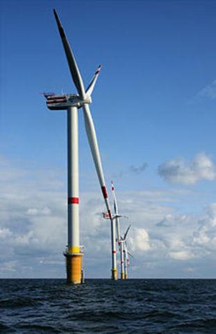 1st Megawatt Wind Turbiine